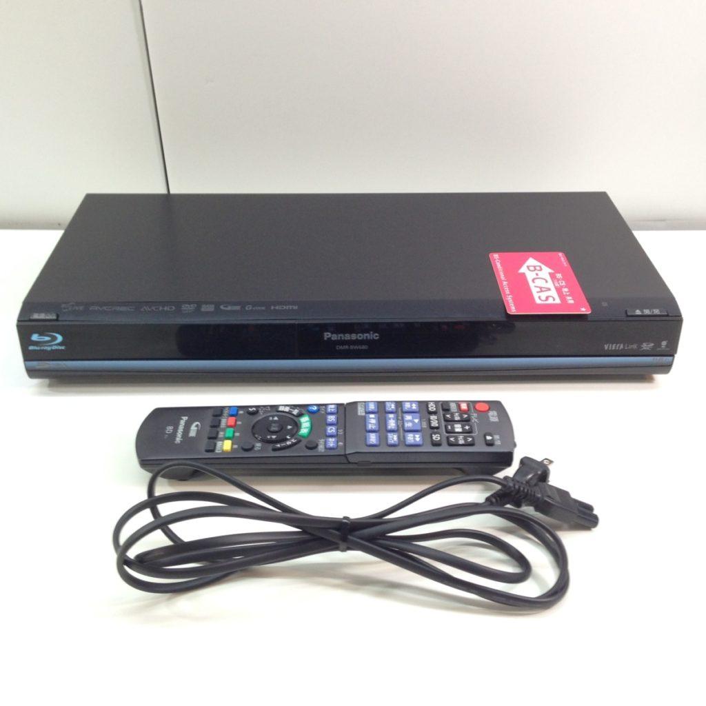 パナソニック DVDレコーダー DIGA DMR-BW680 買取しました