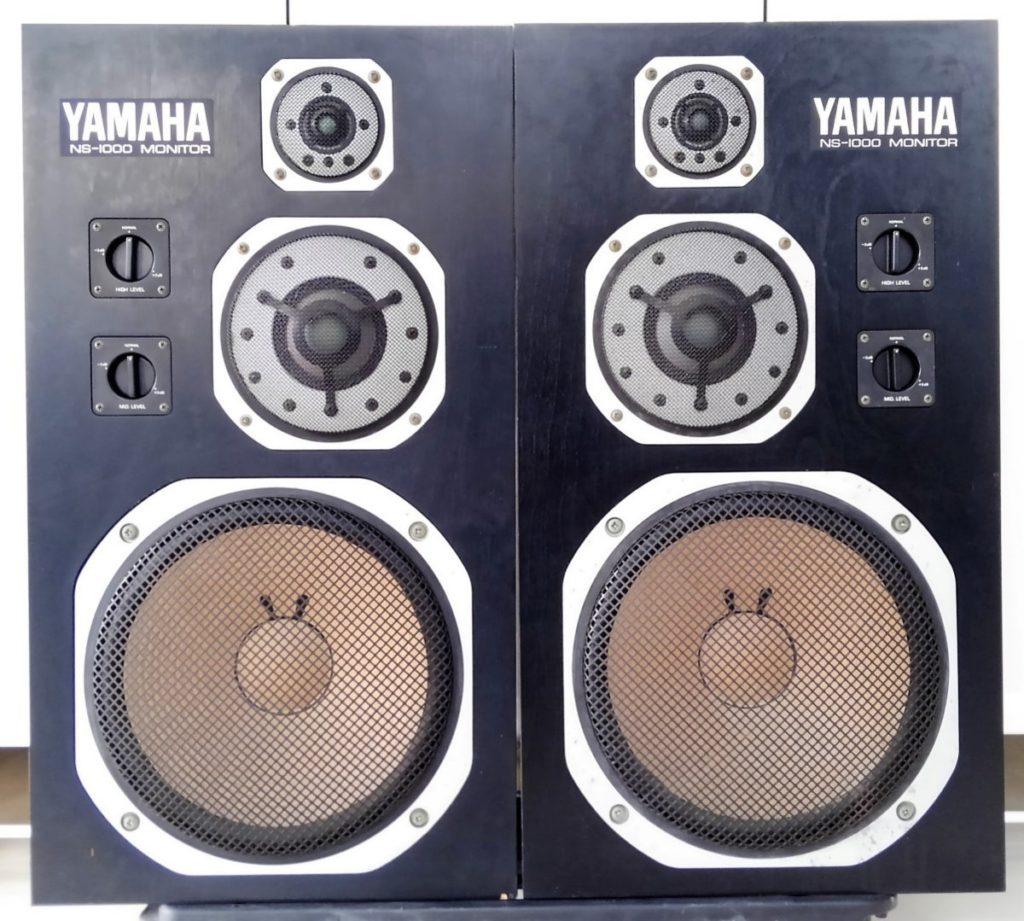 YAMAHA 3ウェイスピーカー NS-1000Mを買取させて頂きました