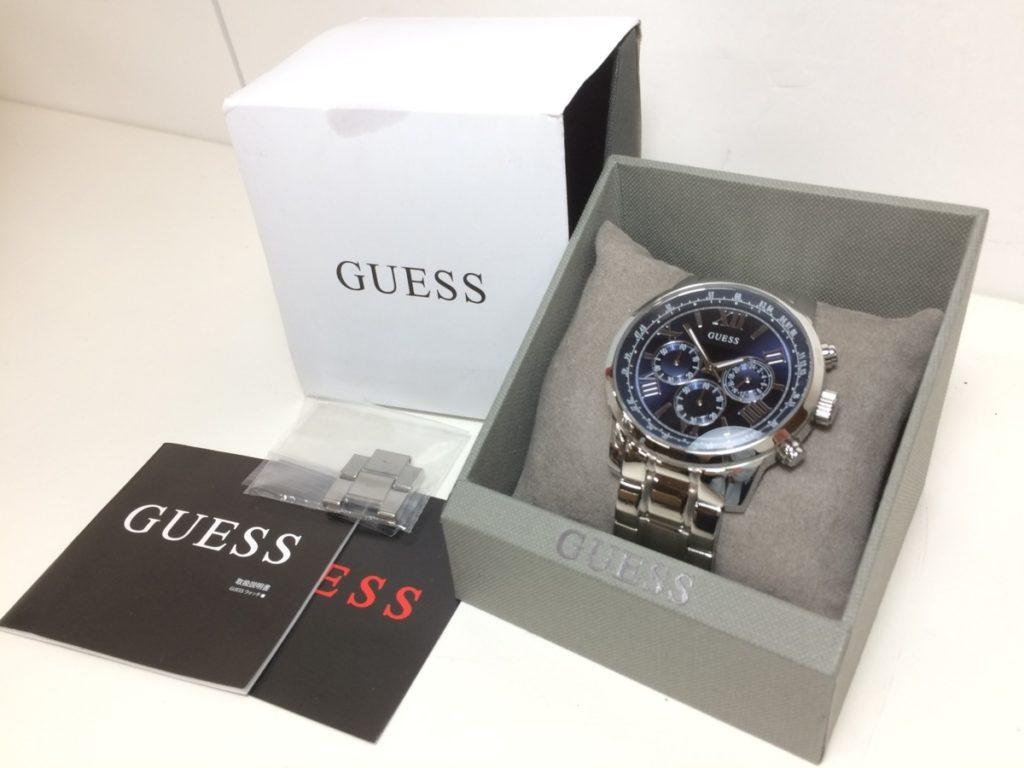 GUESS/ゲス 腕時計 HORIZON W0379G3 メンズ買取させて頂きました!