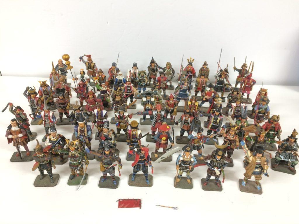 戦国武将のフィギュア デル・プラド戦国覇王フィギュア67体買取させて頂きました!