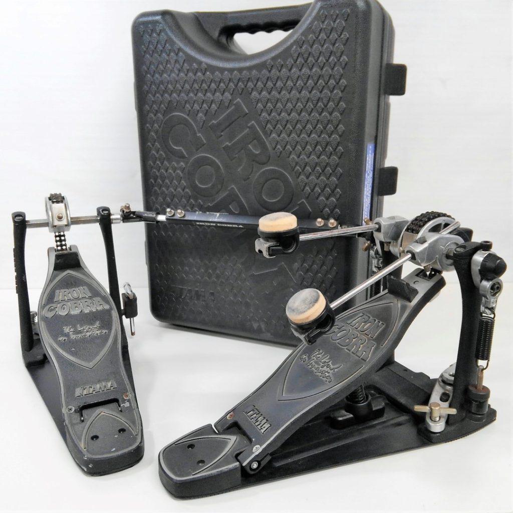 TAMA タマ IRON COBRA ドラムツインペダル ハードケース付きを買取させて頂きました!
