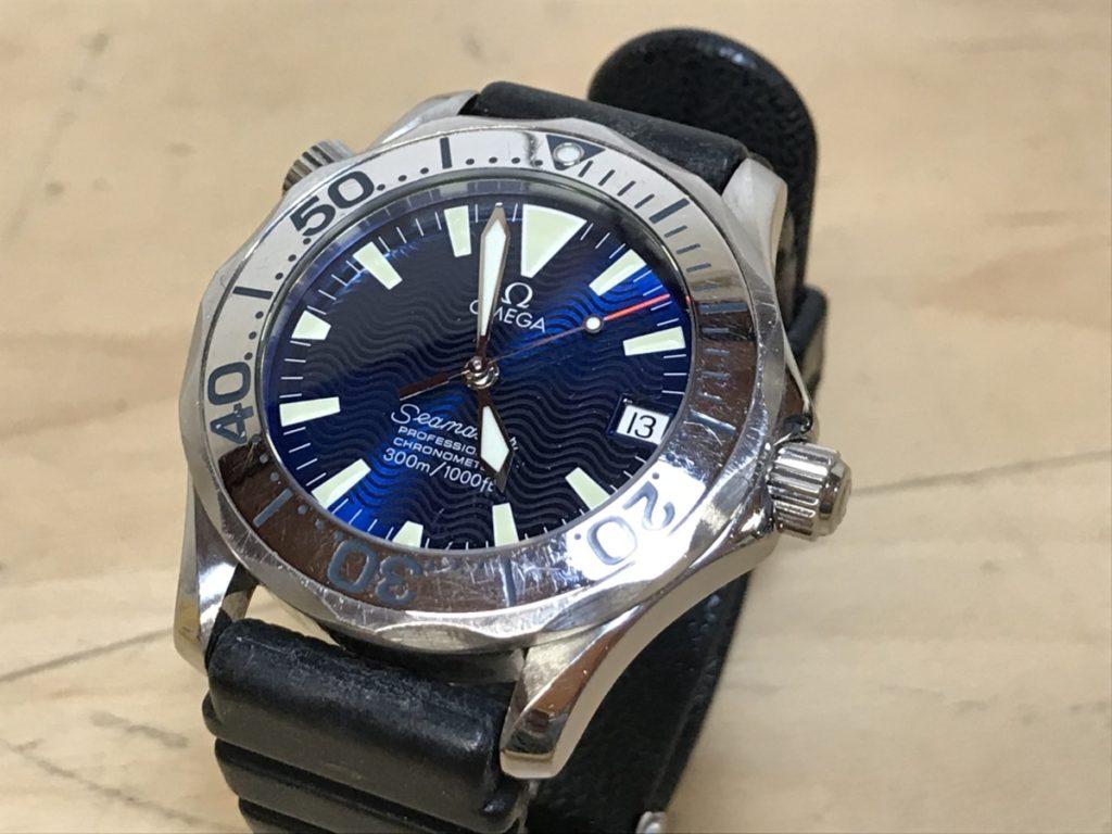 旧型 OMEGA オメガ シーマスター300 プロフェッショナル 腕時計 自動巻き買取いたしました!