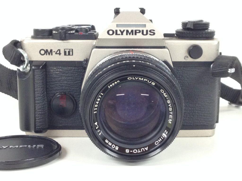 ジャンク OLYMPUS フィルムカメラ OM-4/レンズ ZUIKO 50mm f1.4 買取いたしました!
