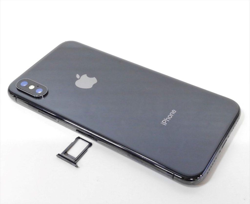 au iPhoneX 水没品 ジャンク品買取しました!
