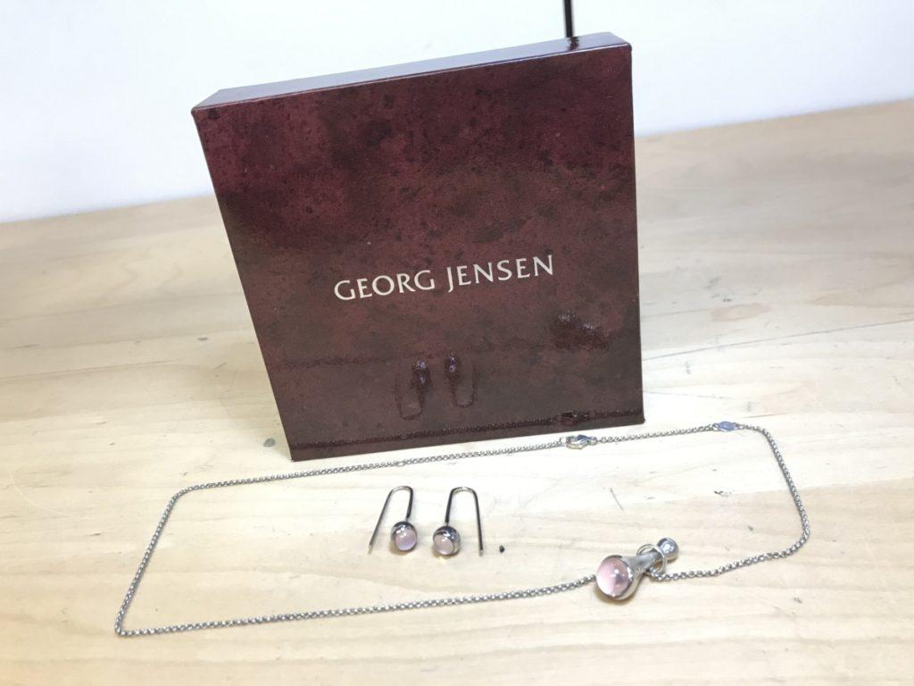 Georg Jensen ジョージジェンセン Silver 925 ネックレス ピアス買い取りしました!