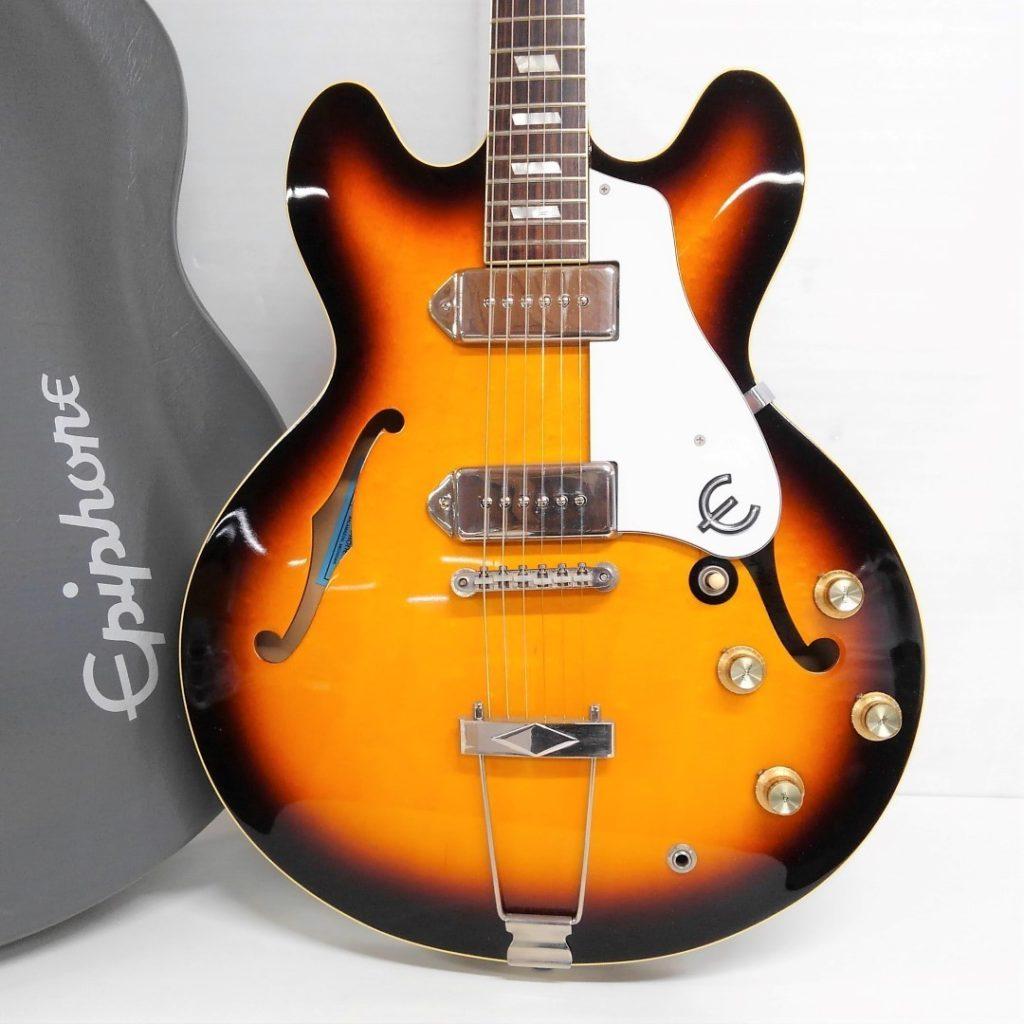 Epiphone 70th Anniversary John Lennon Casino 限定モデル買取いたしました!