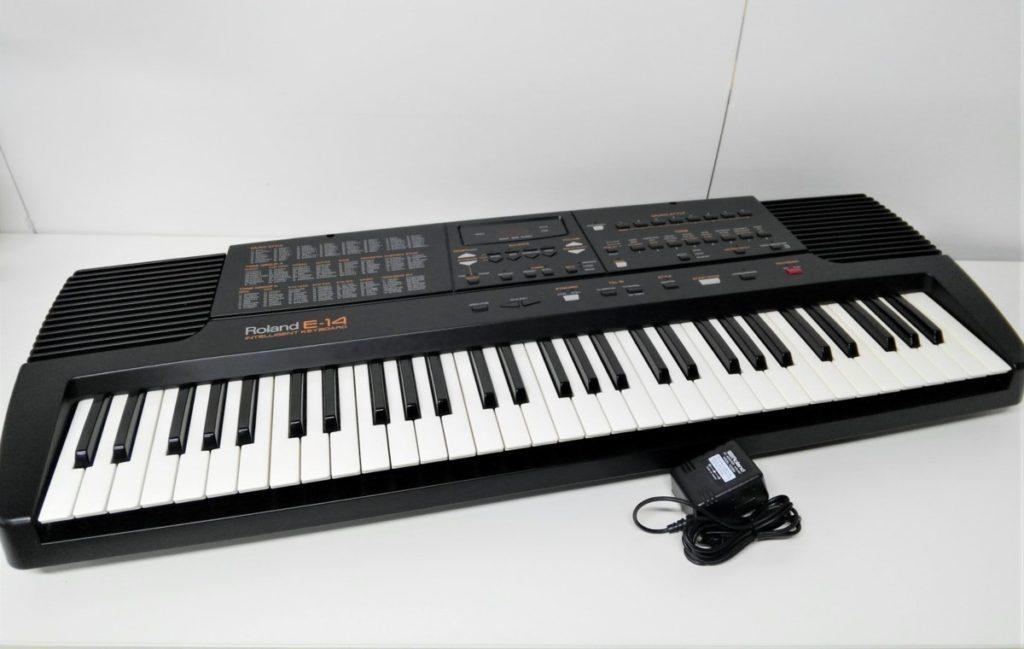 Roland ローランド 自動伴奏 E-14 鍵盤 キーボード 楽器買取致しました。