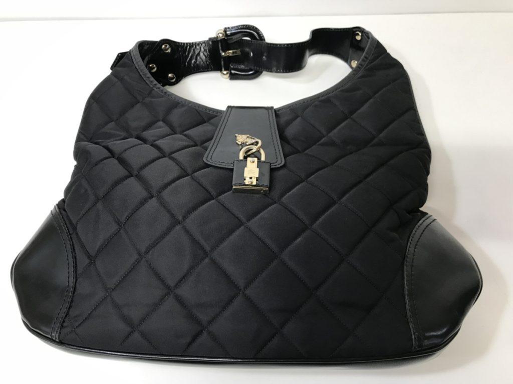 BURBERRY バーバリー キルティング ハンドバッグ 肩掛け ブラック買い取りました!!