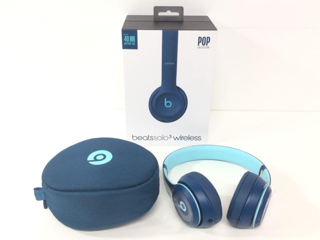 beats ビーツ solo3 wireless Bluetooth ヘッドフォン ブレイクブルー買い取りました!