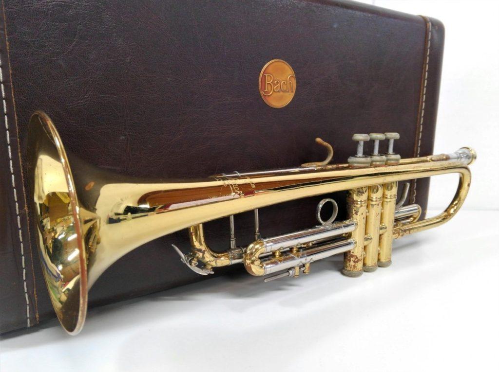 Bach トランペット stradivarius model買い取りました!