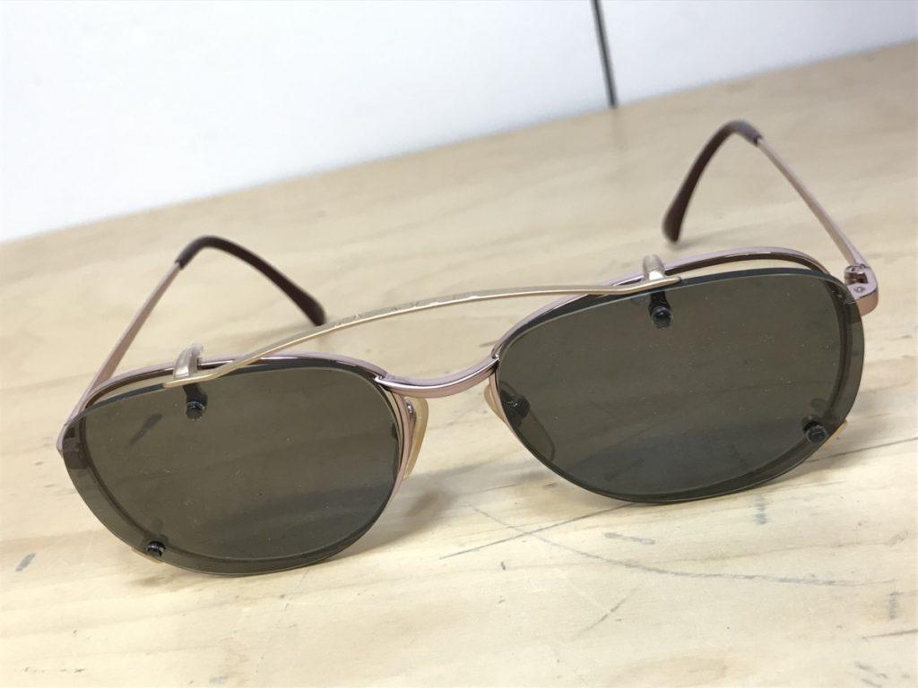 ビンテージ LION MUSTY-8 クリップオン付き眼鏡買い取りました!