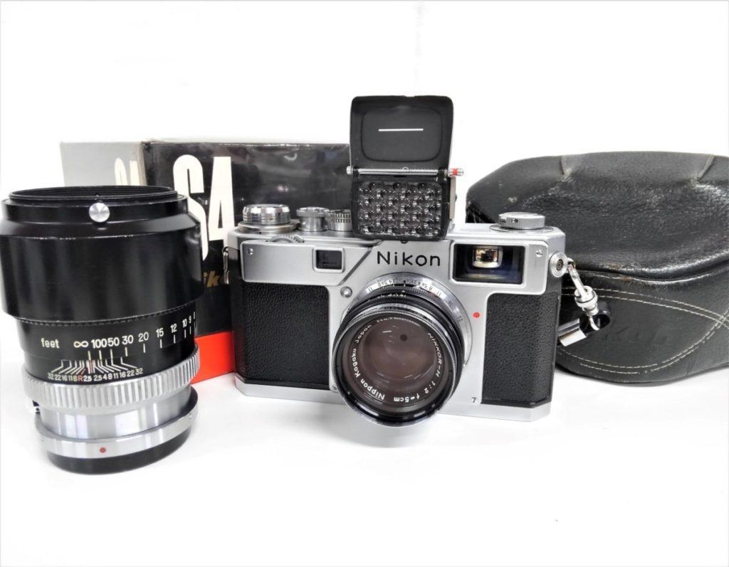 Nikon レンジファインダー S4 f=5cm&10.5cm+露出計買い取りました!