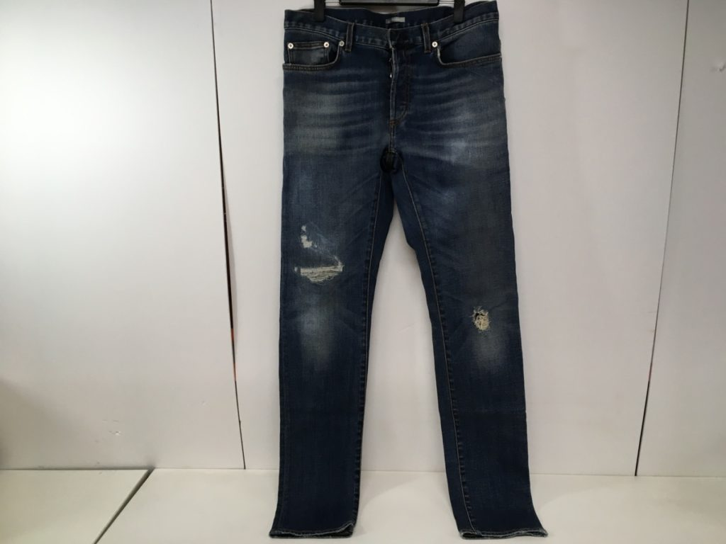 18ss Dior ストレート デニム パンツ インディゴブルー 買い取りました!