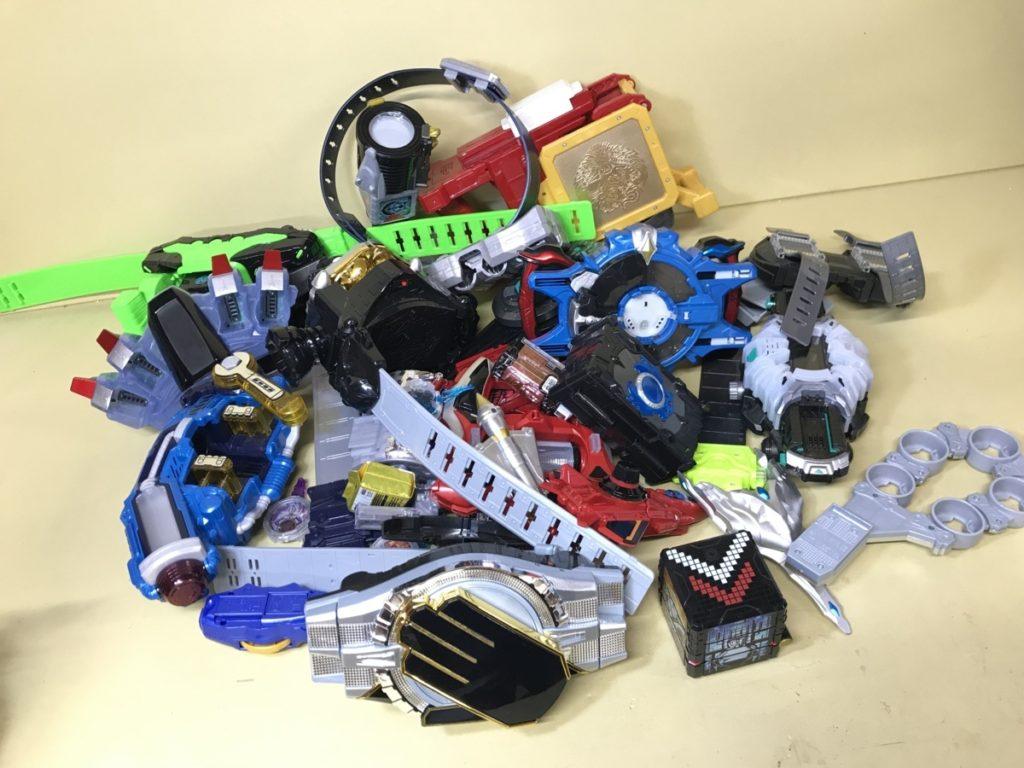 すべてまとめセット 仮面ライダー 変身ベルト ドライバー等買い取りました!