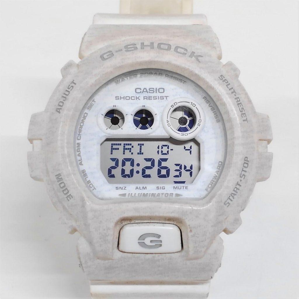 CASIO G-SHOCK ヘザード柄 GD-X6900HT-8JF買い取りました!!