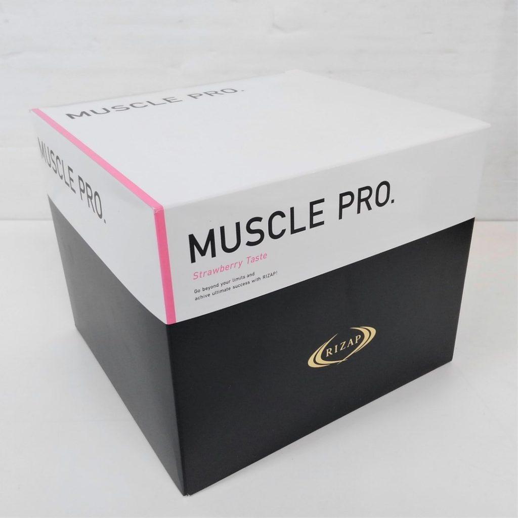 ライザップ MUSCLE PRO 780g (26g×30袋) ストロベリー風味買い取りました!