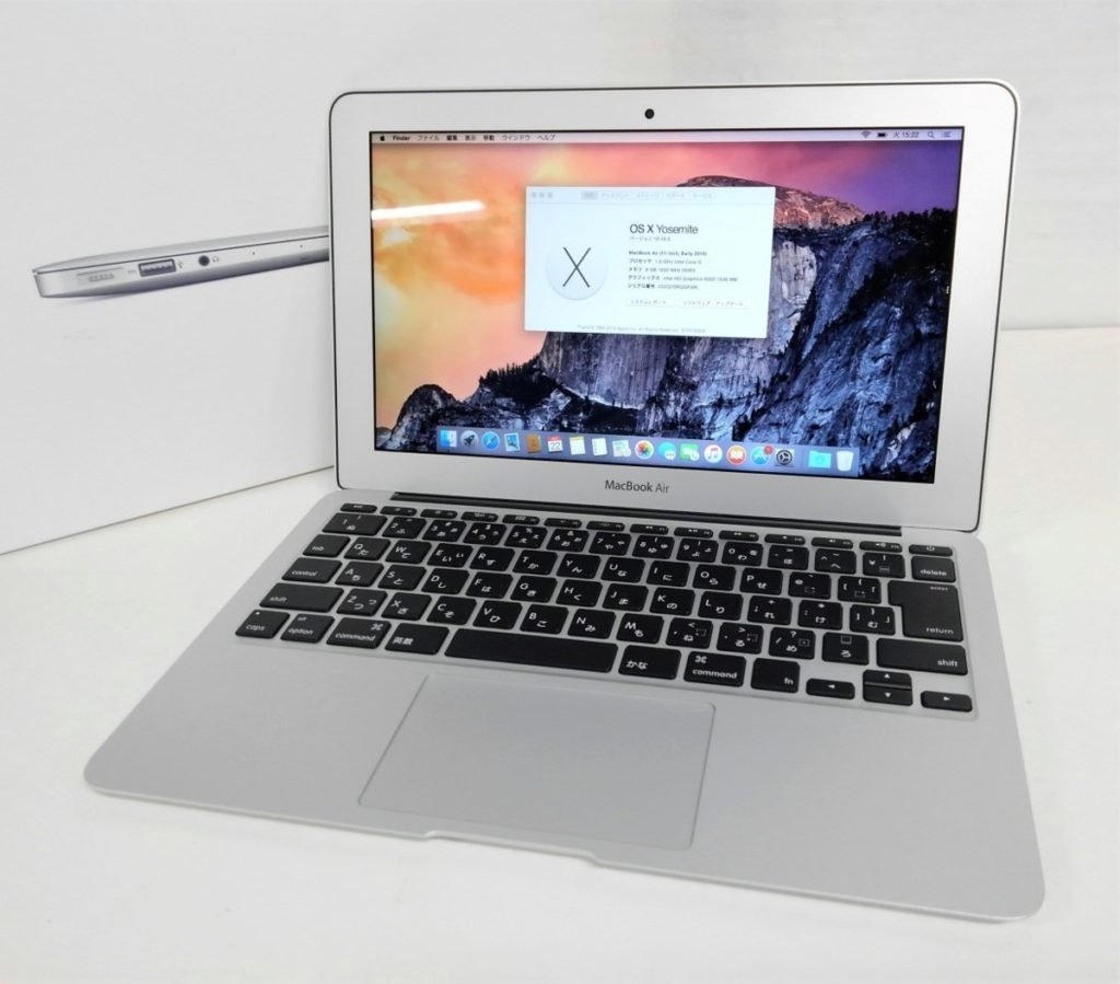 Apple MacBook Air 11-inch 買い取りました!