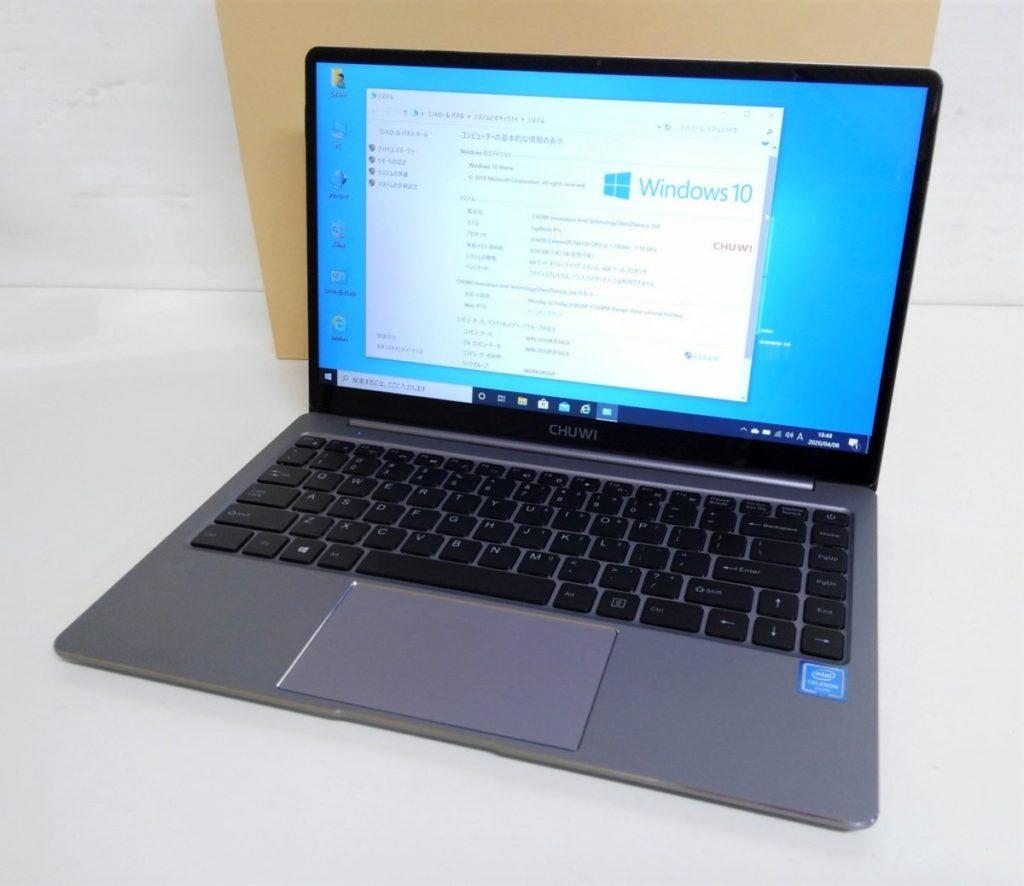 CHUWI 14.1インチ LapBook Pro Win10買取りました!