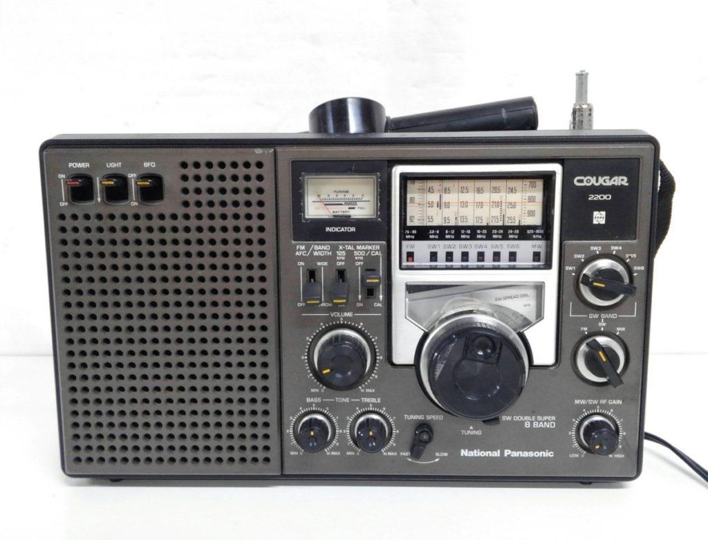 National ナショナル クーガ2200 BCLラジオ買取りました!